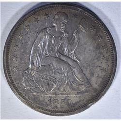 1860-O SEATED DOLLAR  CH BU