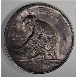 1925-S CALIFORNIA COMMEM HALF DOLLAR  CH BU