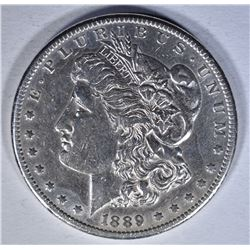 1889-CC MORGAN DOLLAR AU/BU