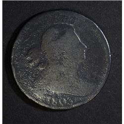 1803 DRAPED BUST LARGE CENT AG/G