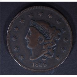 1835 LARGE CENT  VF+