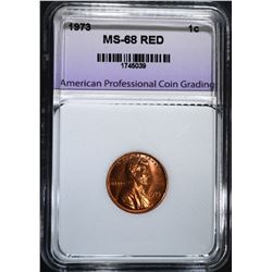 1973 LINCOLN CENT APCG SUPERB GEM+