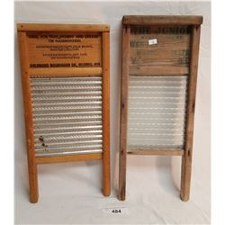 2 Small Washboards