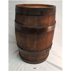 Vintage Oak Barrel