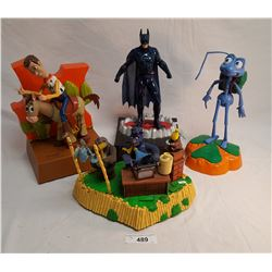 4 Collectible Toys