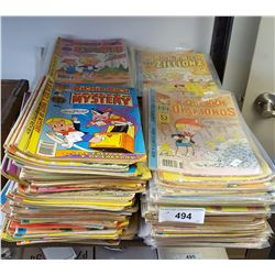 Large Lot of Comics