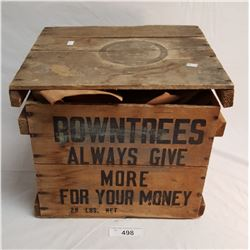 Vintage Rowntree Chocolate Box