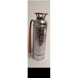 Chrome Fire Extinguisher