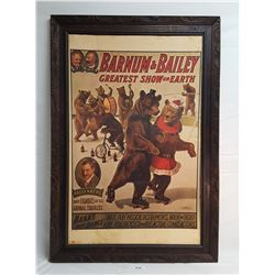 Framed Buffalo Bill Poster