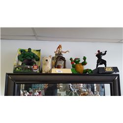 Shelf Lot of Collectible Toys
