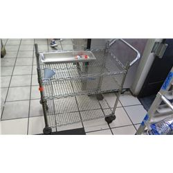 Stainless Steel Rolling Cart