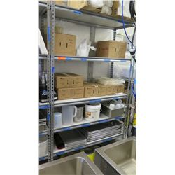 6 Tier Stainless Steel Shelving Unit