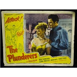 """Rare-Vintage 1952 Lobby Card """"The Plunderers"""""""