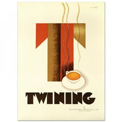 """""""Twining"""" Hand Pulled 38x52 Lithograph"""