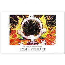 "Tom Everhart ""Big Loud Screaming Blonde"" Fine Art 36x24 Poster"