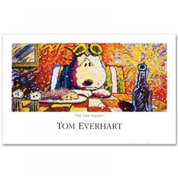 "Tom Everhart ""Last Supper"" Fine Art 38x24 Poster"