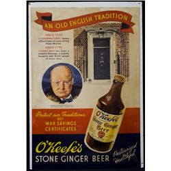 O'keefe's Stone Ginger Beer Poster