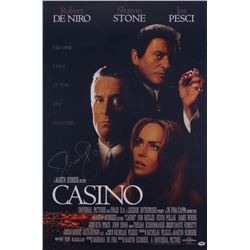 "Sharon Stone Signed ""Casino"" 24x36 Movie Poster (PSA COA)"