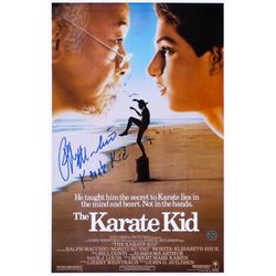"Ralph Macchio Signed ""The Karate Kid"" 11x17 Photo Inscribed ""Karate Kid"" (Legends COA)"