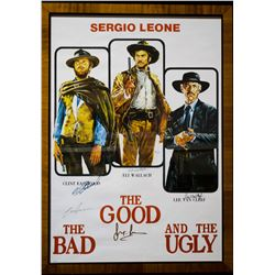 "Vintage (1966) ""The Good, the Bad and the Ugly"" Movie Poster"
