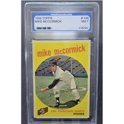 1959 Topps #148 Mike McCormick - NM