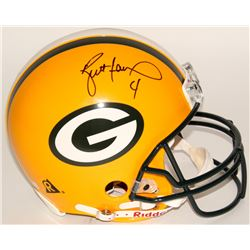 "Brett Favre Signed Green Bay Packers ""On-Field"" Full-Size Authentic Proline Helmet (JSA LOA)"