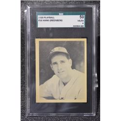 1939 Play Ball #56 Hank Greenberg VG-EX