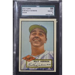 1952 Topps #394 Billy Herman CO - (NM-MT)