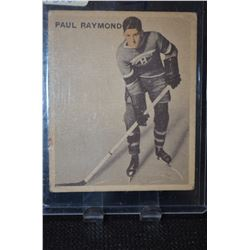 1933-34 V357 Ice Kings #18 Paul Raymond RC
