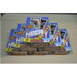 6 Boxes - 1991-92 (unopened packs) OPC Hockey Cards