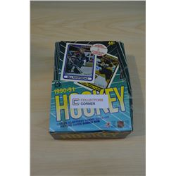 Box - 1990-91 OPC Hockey Cards