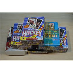 6 Boxes - Mixed (Opened/Unopened) Hockey Cards