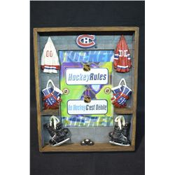 8x10 Hockey Photo Frame