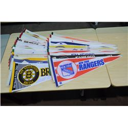 NHL Pennants (approx 25)