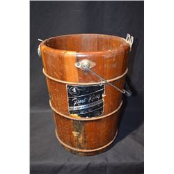 Frost King Ice Cream Churn Bucket