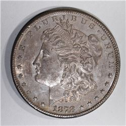 1878-S MORGAN DOLLAR, 1OO%  ORIG. GEM BU COLORS