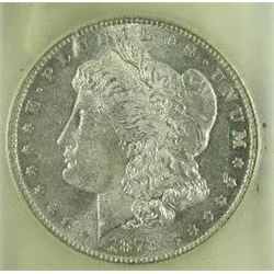 1878-P Morgan Silver Dollar  USCG MS  VAM 210