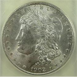 1902-O Morgan Silver Dollar  USCG MS