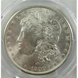 1900-P Morgan Silver Dollar  PCGS MS65
