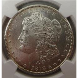 1878-CC/CC Morgan Silver Dollar  NGC MS63