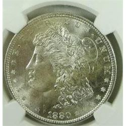 1880-S Morgan Silver Dollar  NGC MS66+