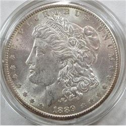 1889-P Morgan Silver Dollar