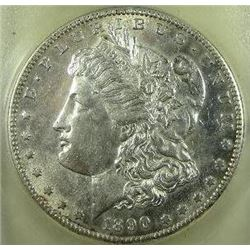 1890-S Morgan Silver Dollar  USCG MS