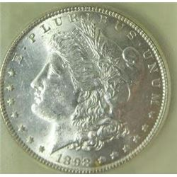 1898-P Morgan Silver Dollar  USCG MS