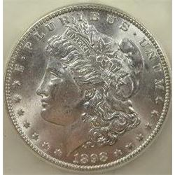 1898-O Morgan Silver Dollar  USCG MS