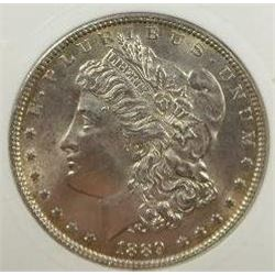1889-P Morgan Silver Dollar  PCI MS66