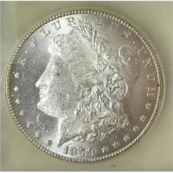 1879-S Morgan Silver Dollar  USCG MS