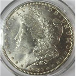 1886-P Morgan Silver Dollar