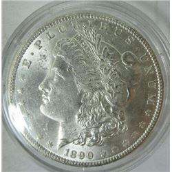 1890-P Morgan Silver Dollar