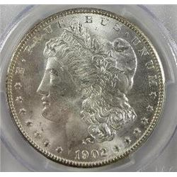 1902-O Morgan Silver Dollar  PCGS MS64+